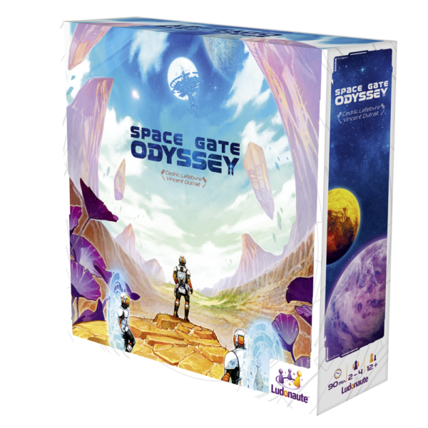 Board Game Review: Space Gate Odyssey